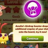 Farm Heroes Saga, Amelia's Airdrop Booster