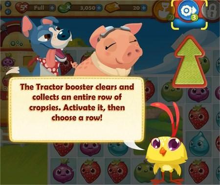 Farm Heroes Saga, Tractor Booster