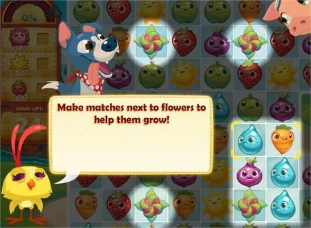 Farm Heroes Saga, Flowers