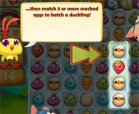 Farm Heroes Saga, Cracked Egg