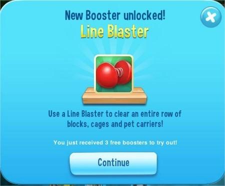 Pet Rescue Saga, Line Blaster