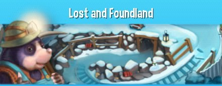 Pet Rescue Saga, Lost and Foundland