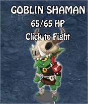 Goblin Shaman ,Legends: Rise of a Hero