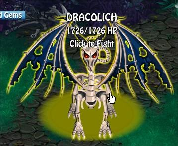Dracolich, Legends: Rise of a Hero