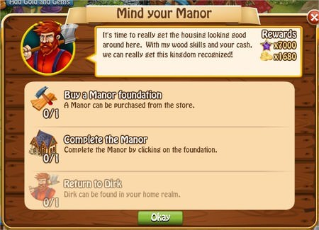 Mind your Manor, Legends: Rise of a Hero