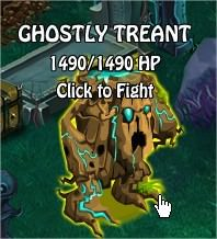 Ghostly Treant, Legends: Rise of a Hero