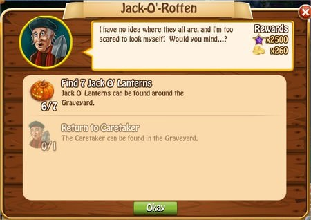 Jack-O'-Rotten, Legends: Rise of a Hero