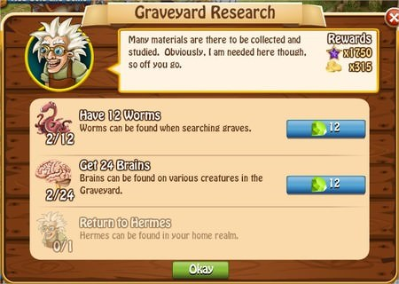 Graveyard Research, Legends: Rise of a Hero