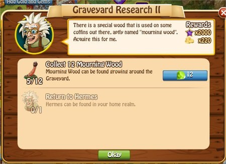 Graveyard Research II, Legends: Rise of a Hero