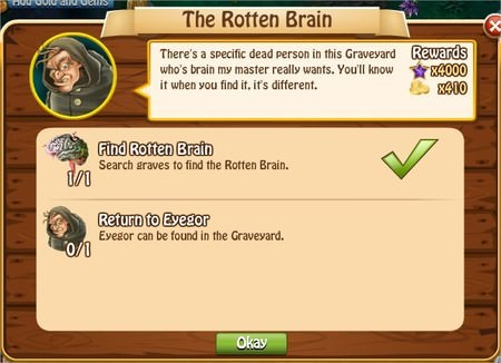 The Rotten Brain, Legends: Rise of a Hero