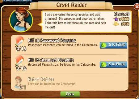 Crypt Raider, Legends: Rise of a Hero