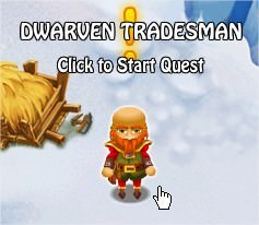 Dwarven Tradesman, Legends: Rise of a Hero