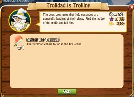 Trolldad is Trolling, Legends: Rise of a Hero