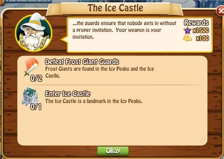 The Ice Castle, Legends: Rise of a Hero