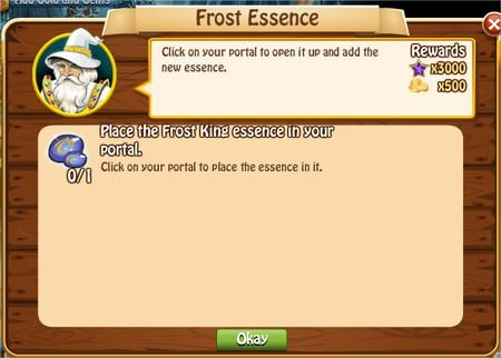 Frost Essence, Legends: Rise of a Hero