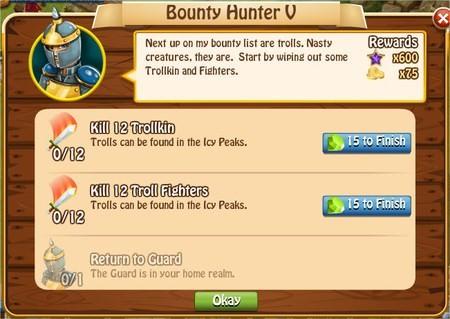 Bunty Hunter V, Legends: Rise of a Hero