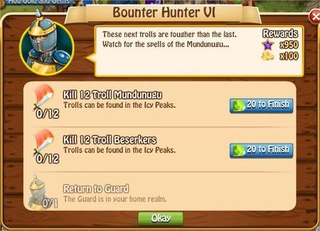 Bunty Hunter VI, Legends: Rise of a Hero