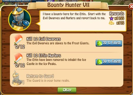 Bunty Hunter VII, Legends: Rise of a Hero