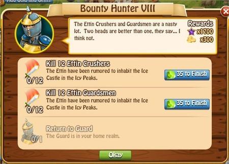 Bunty Hunter VIII, Legends: Rise of a Hero