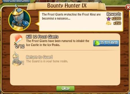 Bunty Hunter IX, Legends: Rise of a Hero