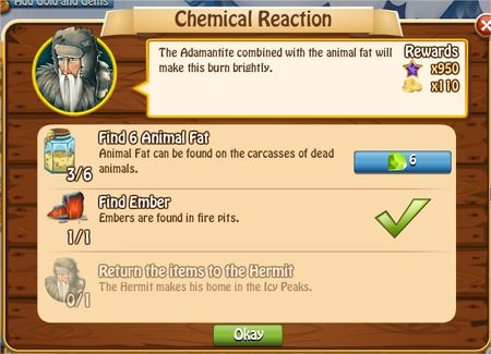 Chemical Reaction, Legends: Rise of a Hero