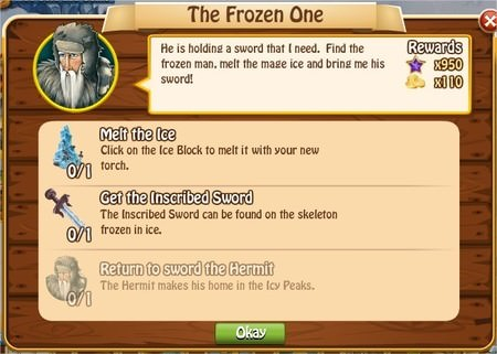 The Frozen One, Legends: Rise of a Hero