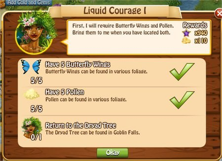 Liquid Courage I, Legends: Rise of a Hero