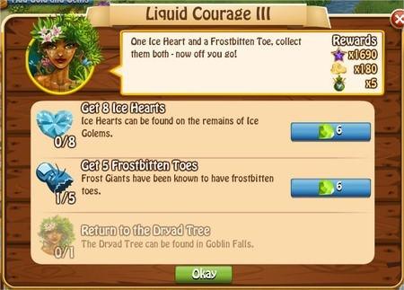 Liquid Courage III, Legends: Rise of a Hero