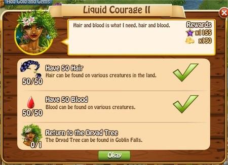 Liquid Courage II, Legends: Rise of a Hero
