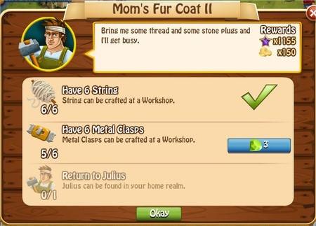 Mom's Fur Coat II, Legends: Rise of a Hero