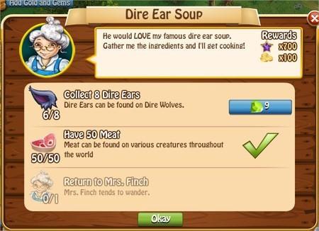Dire Ear Soup, Legends: Rise of a Hero