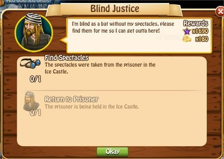 Blind Justice, Legends: Rise of a Hero