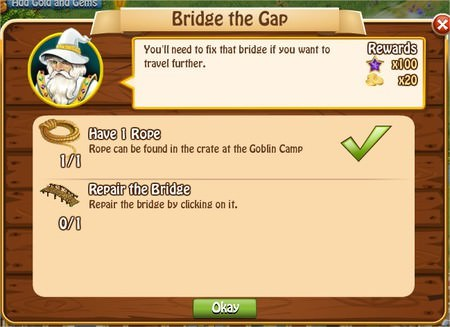 Bridge the Gap, Legends: Rise of a Hero