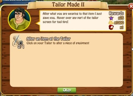 Tailor Made II, Legends: Rise of a Hero