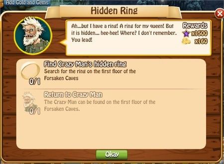 Hidden Ring, Legends: Rise of a Hero