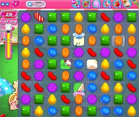 Candy Crush Saga, 關卡解法 LV.79