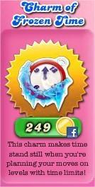Candy Crush Saga, Charm of Frozen Time