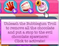 Candy Crush Saga, Booster, Bubblegum Troll