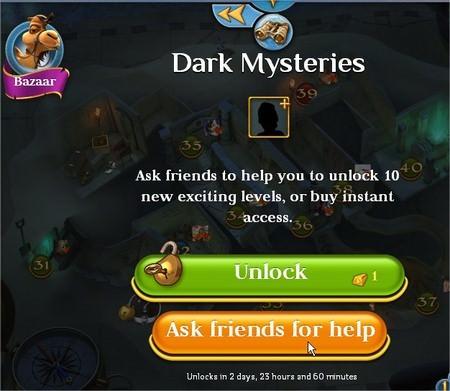 Pyramid Solitaire Saga, unlock