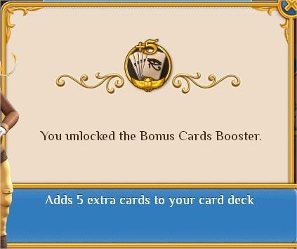 Pyramid Solitaire Saga, Booster, Bonus Cards Booster