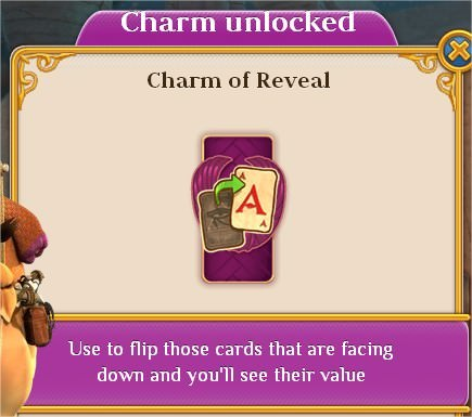 Pyramid Solitaire Saga, Charm, Charm of Reveal
