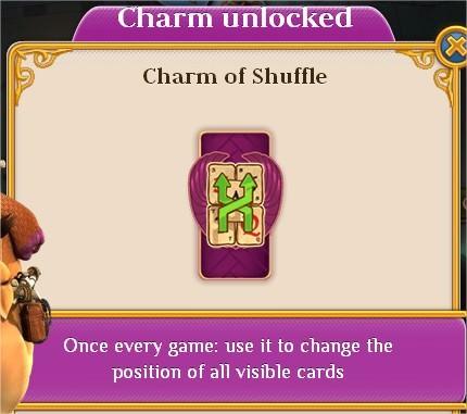 Pyramid Solitaire Saga, Charm, Charm of Shuffle