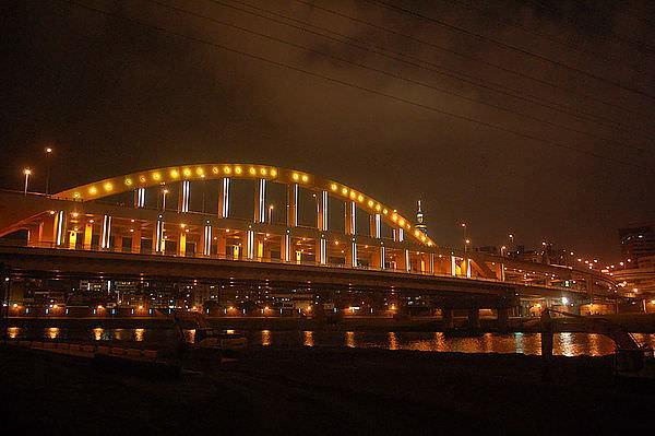 麥帥一橋,基隆河右岸腳踏車道