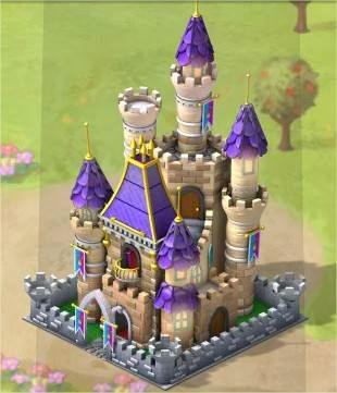 CoasterVille, 雄偉城堡