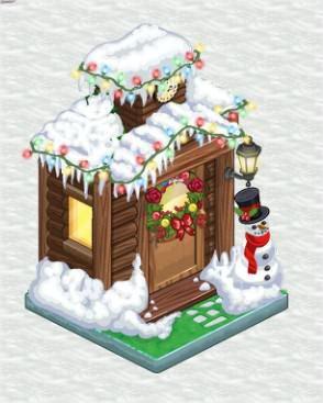 ChefVille, 聖誕節活動廳