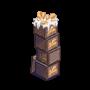 ChefVille, 薑板條箱