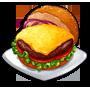 ChefVille, 純正火烤乳酪漢堡