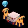 ChefVille, 生日桌