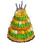 ChefVille, 鬱金香生日蛋糕