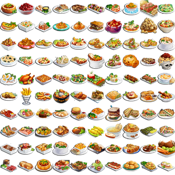 ChefVille(廚師小鎮)食譜